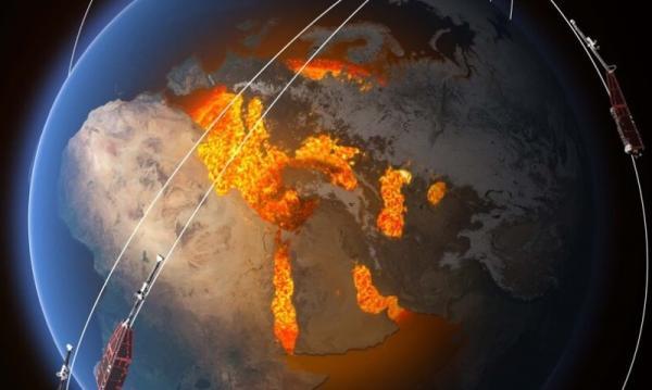 Swarm montre l'affaiblissement du champ magnétique terrestre