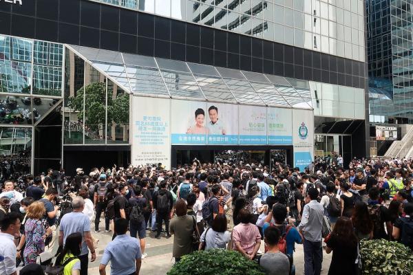 """Depuis le déclenchement de la «campagne contre le projet d'amendement de la la loi d'extradition sur les  délinquants  fugitifs"""" à Hong Kongen juin 2019, de nombreux Hongkongais ont choisi d'aller résider à Taiwan. (Image : wikimedia / Wpcpey / CC BY-SA)"""