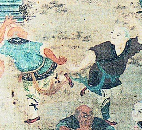 Les arts martiaux Shaolin ont été créés afin que les moines puissent défendre le temple. (Image : wikimedia / CC-PD-Mark)