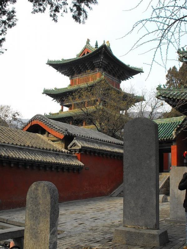 Temple Shaolin en Chine. (Image : 该图片由 /Marin Chorbadzhiyski/ 在 /Pixabay/上发布)