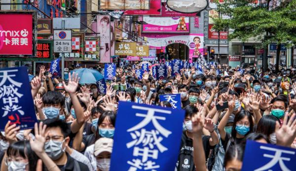 En vertu d'une nouvelle loi à Hong Kong, les militants en faveur de la démocratie et de la liberté d'expression peuvent être classés comme une menace pour la sécurité nationale.(Image :Studio Incendo/flickr /CC BY 2.0)