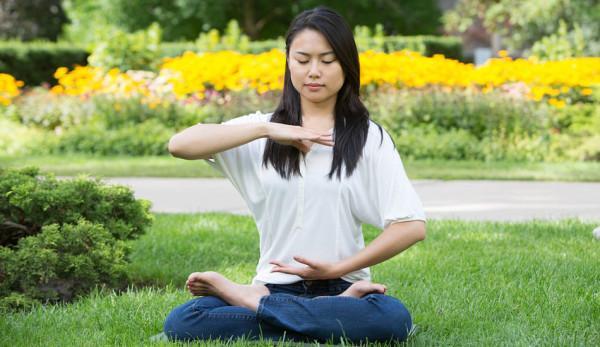 La méditation est un excellent moyen pour se détendre et atteindre un bien-être total et la tranquillité d'esprit. (Image :Joffers951/ wikimedia /CC BY-SA 4.0)