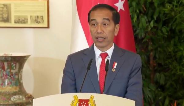 Le président indonésien Joko 'Jokowi' Widodo a rejeté un appel chinois à la négociation concernant la mer de Chine méridionale. (Image : Capture d'écran /YouTube)