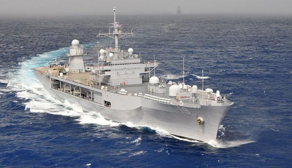 Des navires de guerre américains ont fourni un soutien aux navires de guerre malaisiens. (Image :wikimedia/CC0 1.0)