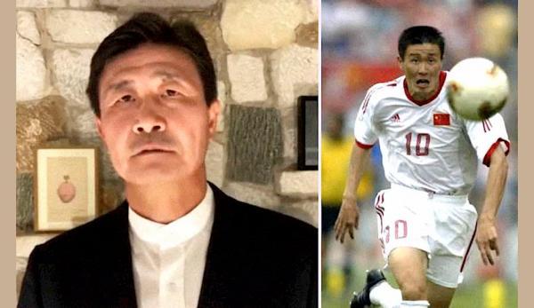 Hao Haidong, l'ancienne star du football chinois, s'en est pris au Parti communiste chinois dans quelques vidéos récentes publiées sur YouTube. (Image : Capture d'écran /YouTube)