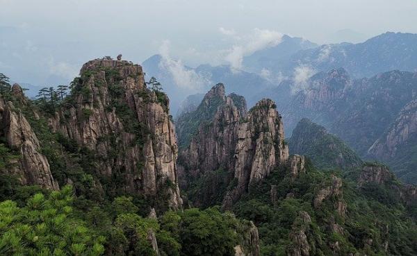 Chine : les quatre merveilles des Monts Huang