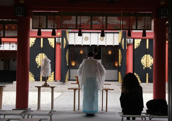 Temple rituel / sanctuaire de Naninoue Okinawa. (Image :Jeniffer, Wai Ting Tan/Pixabay)