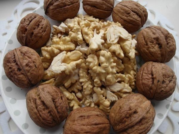 Manger des noix est bon pour le cœur et les artères et favorise le bon fonctionnement du foie. (Image :Tomasz7/Pixabay)