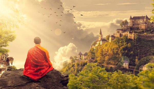 Ji Gong est une figure légendaire du bouddhisme. (Image :Pixabay/CC0 1.0)