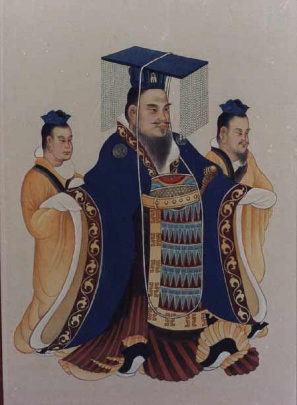 « L'empereur Wu Di (138 avant J-C) de la dynastie Han, a contribué à étendre et unifier l'Empire chinois ». (Image : Wikimedia / Domaine Public)