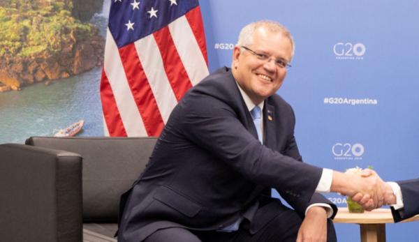 Scott Morrison pense que l'Australie ne doit pas s'incliner devant la Chine. (Image :Wikimedia/CC0 1.0)