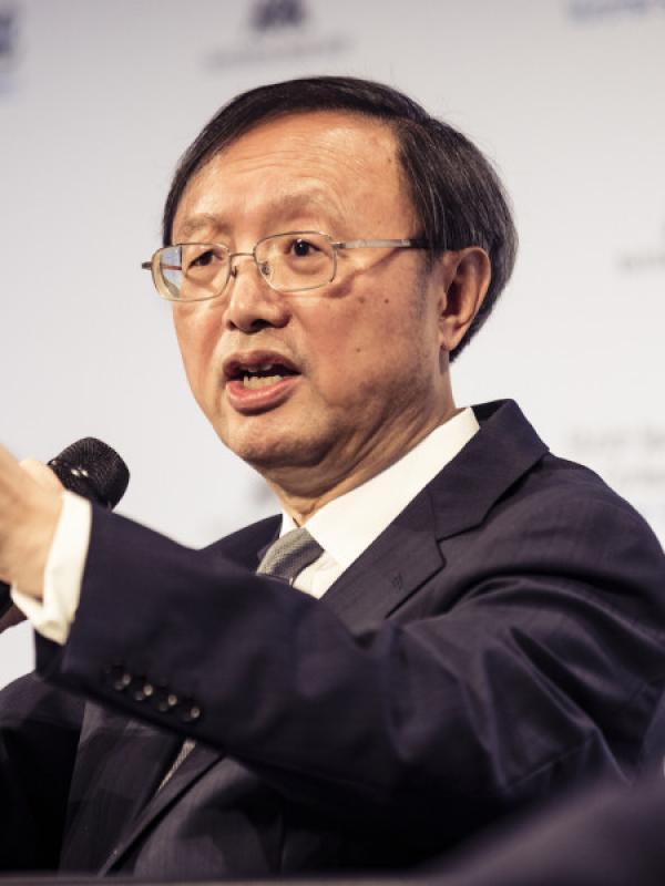 Yang Jiechi, du ministère des affaires étrangères de la RPC, responsable des affaires de l'Amérique du Nord, de l'Océanie et de l'Amérique latine. (Image : Balk / MSC / securityconference.org / CC BY 3.0)