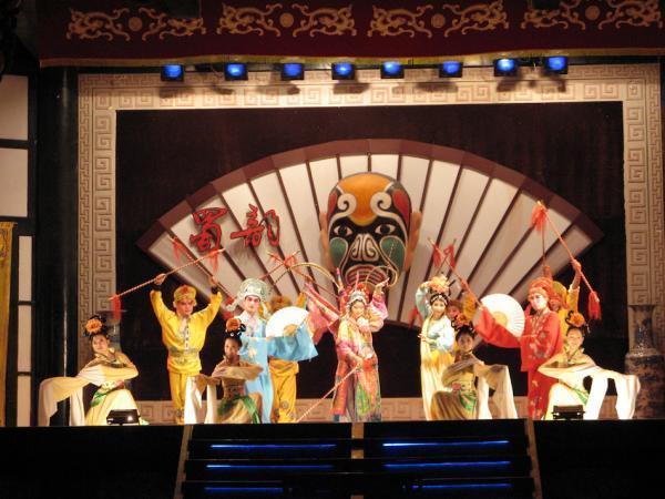 Sichuan Opera de la culture de Shu. (Image : wikimedia / Dice~commonswiki)