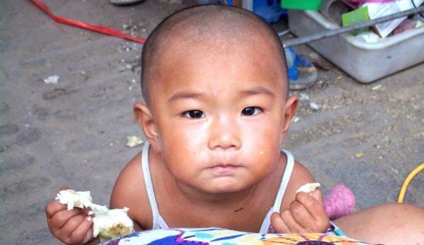 Chine: le changement climatique et son impact sur les enfants
