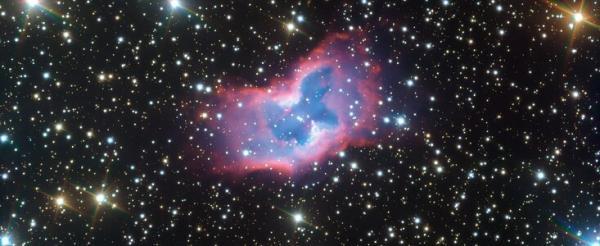 Superbe papillon spatial capturé par le télescope de l'ESO
