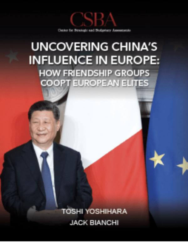 Le rapport souligne que «l'Association d'amitié» est liée au Parti communiste par des canaux directs et indirects, «en faisant progresser les priorités intérieures et les objectifs de politique étrangère de la Chine, ces positions de front jouent le rôle de porte-parole et d'intermédiaire» (Image : Capture d'écran CSBA).