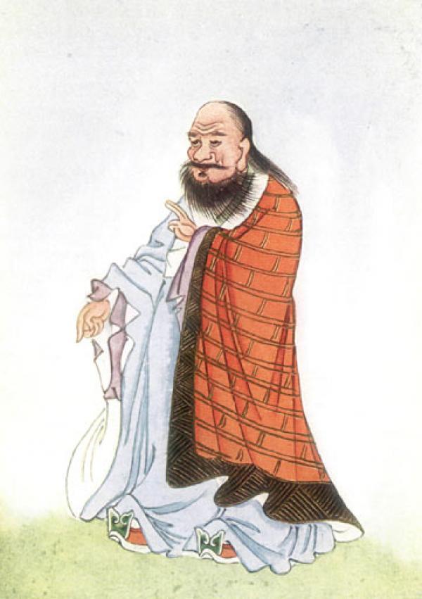 Lao Tseu est considéré comme le fondateur du Taoïsme. (Image : Wikimedia / Domaine public)