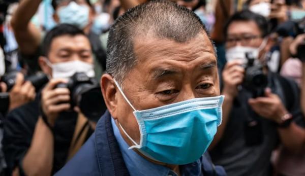 Hong Kong, l'arrestation du fondateur d'Apple Daily