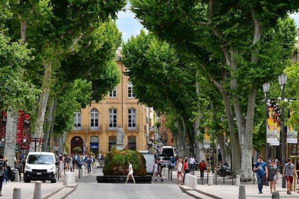 Aix-en-Provence est une destination importante pour les Taïwanais en visite en France: de 2016 à 2019, le nombre de Taïwanais visitant la France a augmenté de 62 %. (Image : Wikimedia / Ladislaus Hoffner / CC BY-SA)