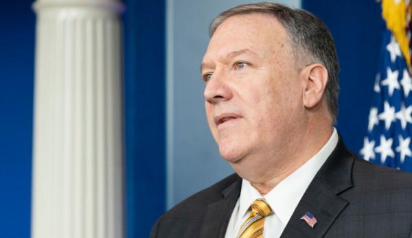 Le secrétaire d'Etat Mike Pompeo a rejeté la loi sur la sécurité nationale. (Image :The White House/CC0 1.0)
