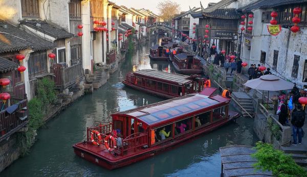 Suzhou, ville d'eau chinoise surnommée par Marco Polo la «Venise de l'Orient», est une destination incontournable en Chine. (Image :pixabay/CC0 1.0)