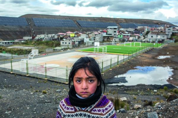Une mine gigantesque contrôlée par Glencore en est responsable. (Image : Initiative multinationales responsables)