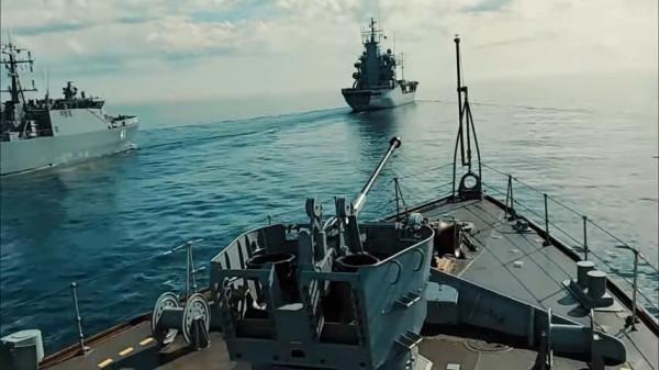 Les espions chinois représentent également une menace pour les ambitions navales de l'Australie. (Image : Capture d'écran /YouTube)