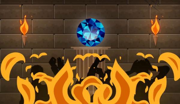 On dit que le diamant Hope, ou diamant de l'espoir est maudit et que quiconque le possède finira par rencontrer le malheur. (Image : Capture d'écran / YouTube)