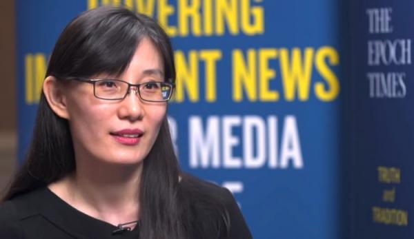 Le Dr Li-Meng Yan, une virologiste chinoise qui compte environ 60000 suiveurs sur Twitter, a vu son compte suspendu après avoir laissé entendre que la Covid-19 avait été «fabriqué» dans un laboratoire en Chine et diffusé intentionnellement dans le monde entier. (Image : Capture d'écran / YouTube)