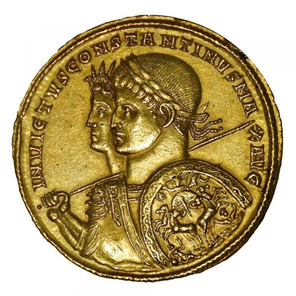 Le commerce et le monde économique ont été stabilisés par l'introduction d'une monnaie forte, le solidus ou solidus aureus et un système monétaire qui a perduré jusqu'au XIe siècle. (Image : Wikimedia / Cabinet des Médailles / Domaine public)