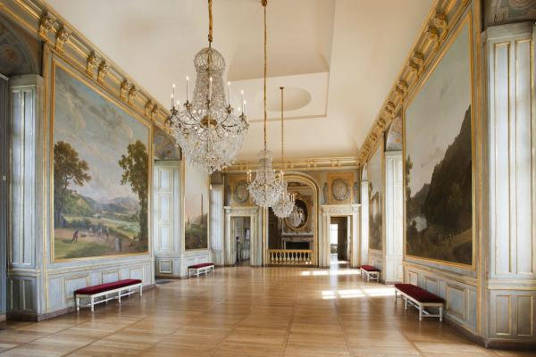 La Grande salle haute du château de Maisons. (Image : © Philippe Berthé – CMN – Photo de presse)