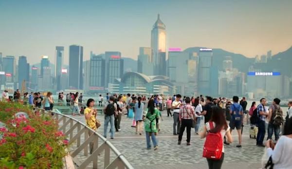Le président américain Donald Trump a assuré que sous le contrôle du PCC (Parti communiste chinois), Hong Kong perdrait bientôt son statut de puissance économique. (Image : Capture d'écran / YouTube)