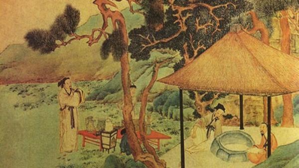 Confucius atteint le Tao après les enseignements de Lao Tseu