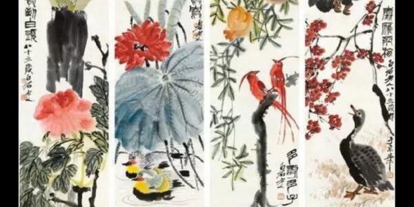 Après avoir subi un accident vasculaire cérébral qui l'a laissée paralysée, Xin Fengxia a été acceptée comme élève du célèbre peintre chinois Qi Baishi. (Image : Capture d'écran / YouTube)