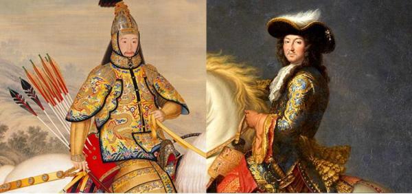Analogies entre Kangxi et Louis XIV (1/10)