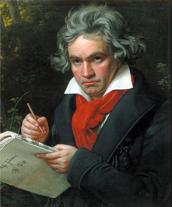Cette année coïncide avec le 250ème anniversaire de la naissance de Ludwig van Beethoven, et l'engouement pour sa musique s'est intensifié dans le monde entier. (Image : Wikimedia Commons / Domaine public)