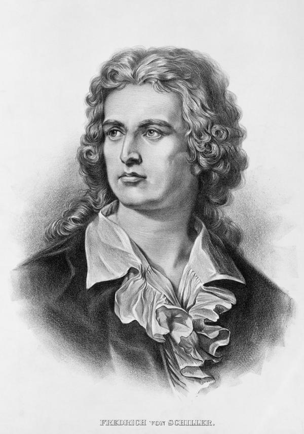 Les paroles de la finale du quatrième et du dernier mouvements de la neuvième symphonie, ont été rédigées par le poète allemand Friedrich von Schiller, en 1785. (Image / Wikimedia Commons / Domaine public)