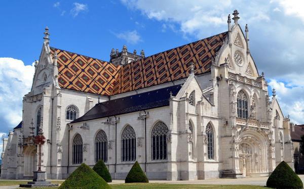 Monastère royal de Brou - (Église Saint-Nicolas-de-Tolentin de Brou). (Image : Wikimedia / © Benoît Prieur)