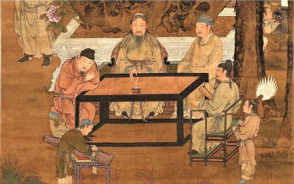 Dix-huit lettrés de la Dynastie Song. (Dynastie Song, Musée National du Palais / @CC BY 4.0)