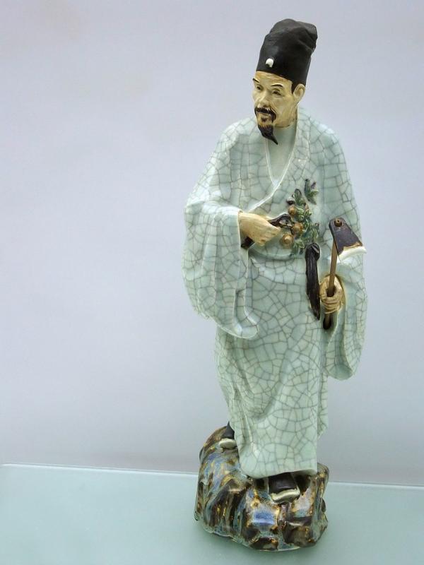 Statue en porcelaine de Li Shizhen. (Image : Wikimedia / Mk2010 / CC BY-SA 3.0)