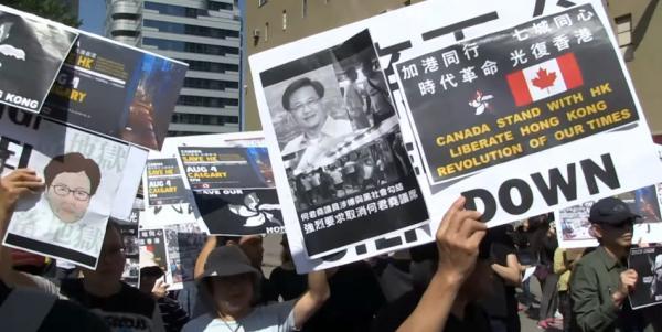L'ambassadeur de Chine au Canada a émis une menace à peine voilée à l'encontre du Canada pour son soutien aux manifestants de Hong Kong, disant que cela pourrait mettre en danger les Canadiens à Hong Kong. (Image : Capture d'écran / YouTube)