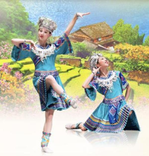 Le costume ethnique Miao. (Photo : Shenyunperformingarts.org)