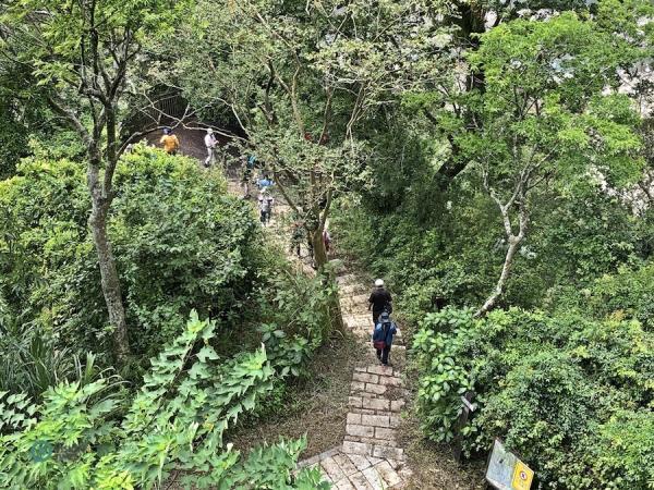 Le sentier historique de Caoling est l'un des itinéraires de randonnée les plus connus du sud de Taiwan. (Image : Billy Shyu / Vision Times)