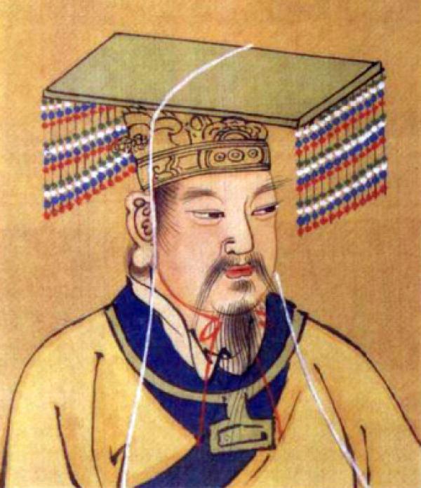 La découverte de la soie est entourée de nombreuses légendes, dont celle de Hsi-Ling-Shi, l'épouse de Huang-Di, l'Empereur Jaune, contée dans le livre des Odes de Confucius,  Classique des vers (诗经). (Image : Wikimedia / CC0)