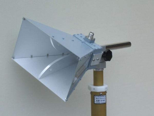 Antenne à cornet à micro-ondes à large bande. (Image : Wikipedia)