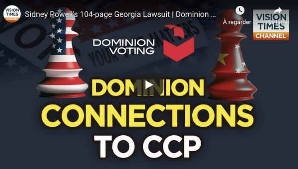 Election américaine : quels liens Dominion a-t-il avec la Chine ?