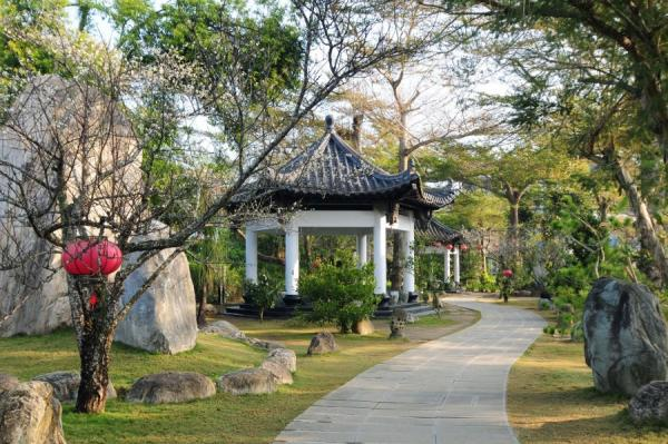 Le sentier de la vie au temple Dazhishan Xuankong. (Image : avec l'aimable autorisation du temple Dazhishan Xuankong)