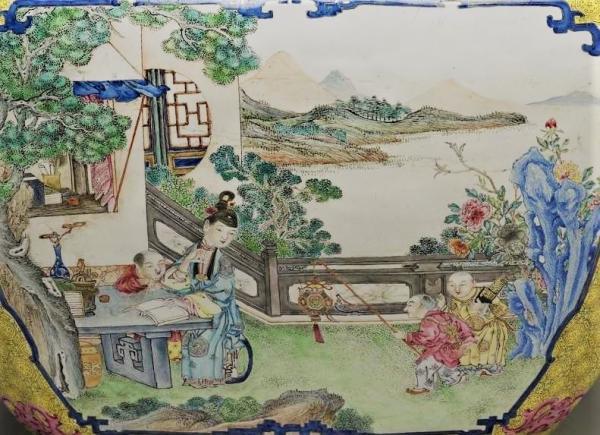 Education d'enfants dans la Chine ancienne. (Image : Musée national du Palais, Taipei / @CC BY 4.0)