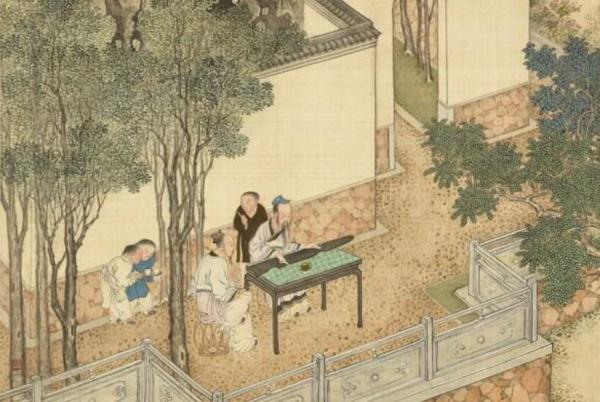 Jouer au Guqin. (Image : Musée national du Palais, Taipei / @CC BY 4.0)