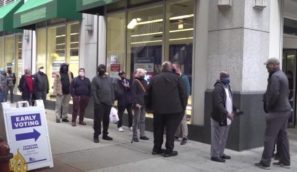 Plus de 130 000 électeurs auraient dû être rayés des listes électorales dans le Wisconsin. (Image : Capture d'écran / YouTube)